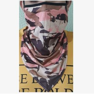face mask Accessories - 📚SALE!📚 Tan Camo Mask Scarf w/ Ear Loops